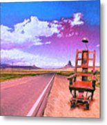 The Road To Perdition Metal Print