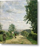 The Road To Sevres Metal Print