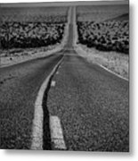 The Road To Shoshone Metal Print
