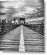 The Road To Tomorrow Metal Print by John Farnan