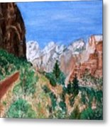 The Road To Zion Metal Print