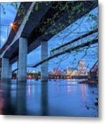 The Robert E Lee Bridge Metal Print