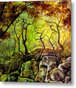 The Rocks In Starachowice Metal Print