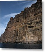 The Rocks Of Los Gigantes 1 Metal Print