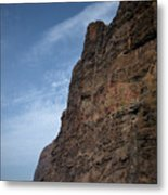 The Rocks Of Los Gigantes 2 Metal Print