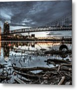 The Roebling Gotham Style Metal Print