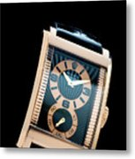 the Rolex Prince, eve rose gold.  Metal Print