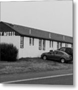 The Rolling Stones' Memory Motel Montauk New York Metal Print