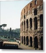 The Roman Colosseum Metal Print