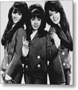 The Ronettes 1966 Metal Print