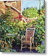 The Roof Garden Metal Print by David Lloyd Glover
