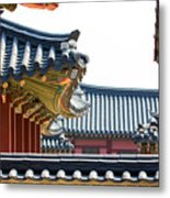 The Roofs Of Suwon Metal Print