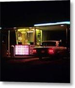 The Roosevelt Drive Inn Metal Print by Corky Willis Atlanta Photography