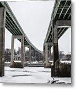 The Roosevelt Expressway Bridges Metal Print