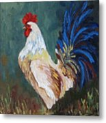 The Rooster Iv  Metal Print