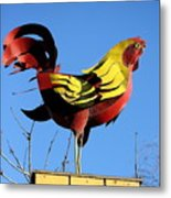 The Rooster . Square . 40d4622 Metal Print