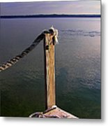 The Ropewalk Metal Print