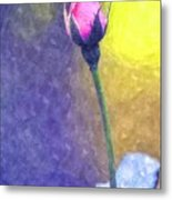 The Rose Bud Metal Print