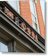 The Rossi Tavern Sign Metal Print