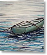 The Row Boat Metal Print
