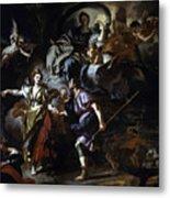 The Royal Hunt Of Dido And Aeneas Metal Print