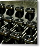 The Royal Typewriter Metal Print