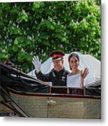 The Royal Wedding Harry Meghan Metal Print