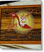 The Ruby Slipper Metal Print