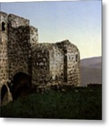 The Ruins Jezreel Holy Land Metal Print