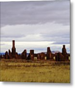 The Ruins Of Fort Union Metal Print