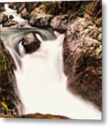 The Rush Of Water And The Cool Wet Wind Metal Print