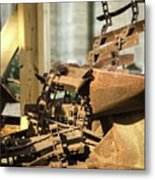 The Rust Belt Metal Print