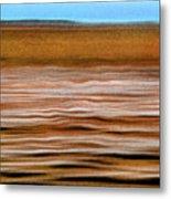 The Rust Brown Pacific Metal Print