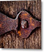 The Rusty Hinge Metal Print