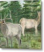 The Rut Metal Print