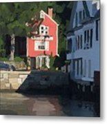 The Sacred Cod And Beacon Marine Metal Print
