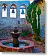 The Sacred Garden Of Mission San Juan Capistrano California Metal Print