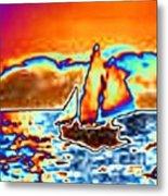 The Sail Metal Print