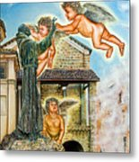 The Saint And The Angels Metal Print