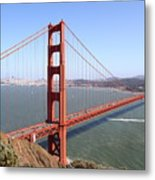 The San Francisco Golden Gate Bridge 7d14507 Metal Print
