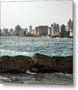 The San Juan Puerto Rico Cityscape Metal Print