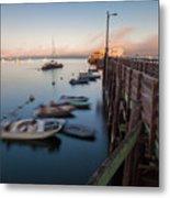 The San Luis Pier Metal Print