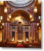 The Sanctuary Of Saint Matthew's Cathedral Metal Print