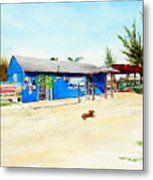 The Sand Bar - Margaritaville, Freeport, Bahamas Metal Print