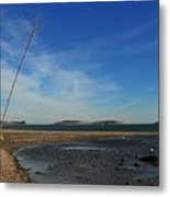 The Sandbar At Low Tide Metal Print