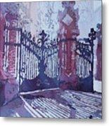 The Sant Pau Gates Metal Print