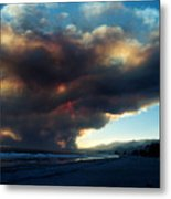 The Santa Barbara Fire Metal Print