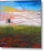 The Scented Sky Metal Print