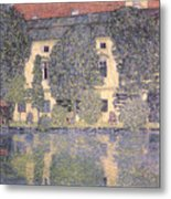 The Schloss Kammer On The Attersee IIi Metal Print