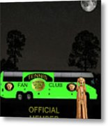 The Scream World Tour Tennis Tour Bus Metal Print by Eric Kempson